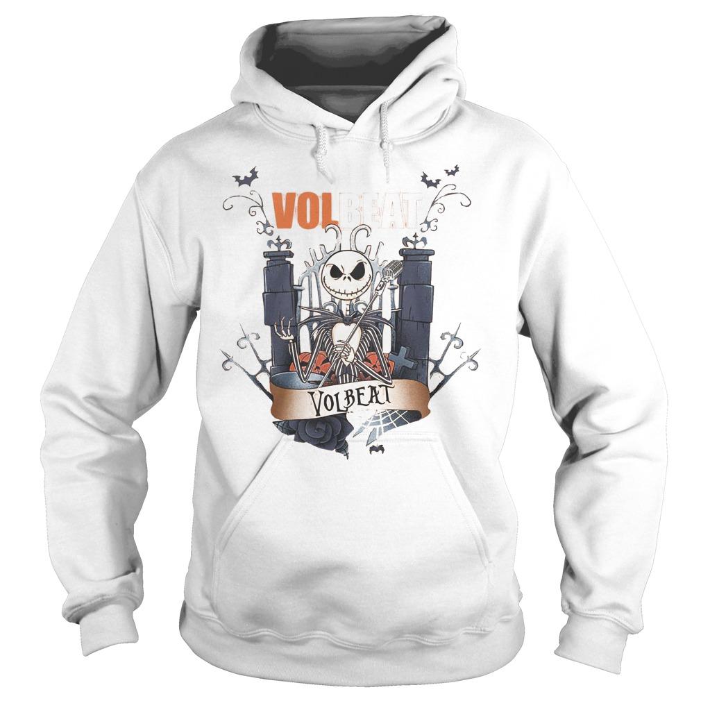 Jack Skellington Volbeat shirt Hoodie