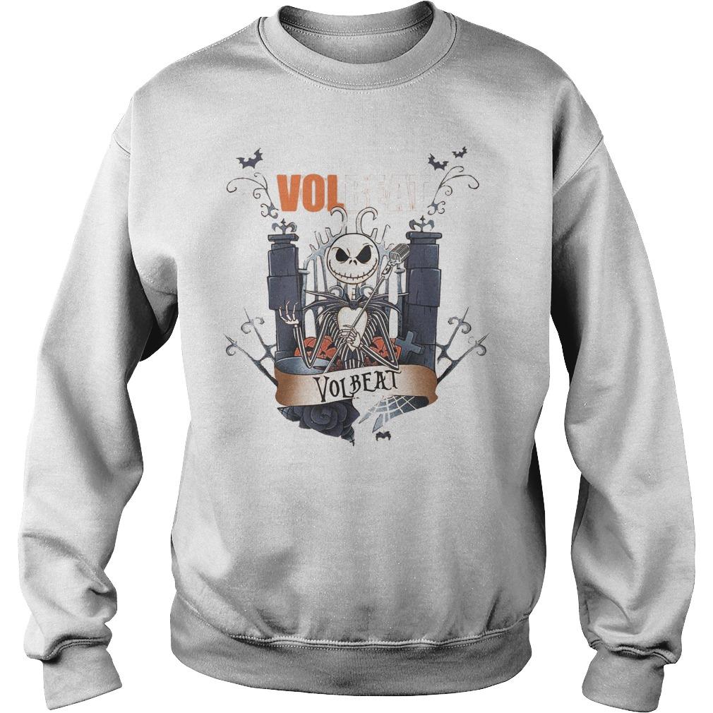 Jack Skellington Volbeat shirt Sweatshirt Unisex