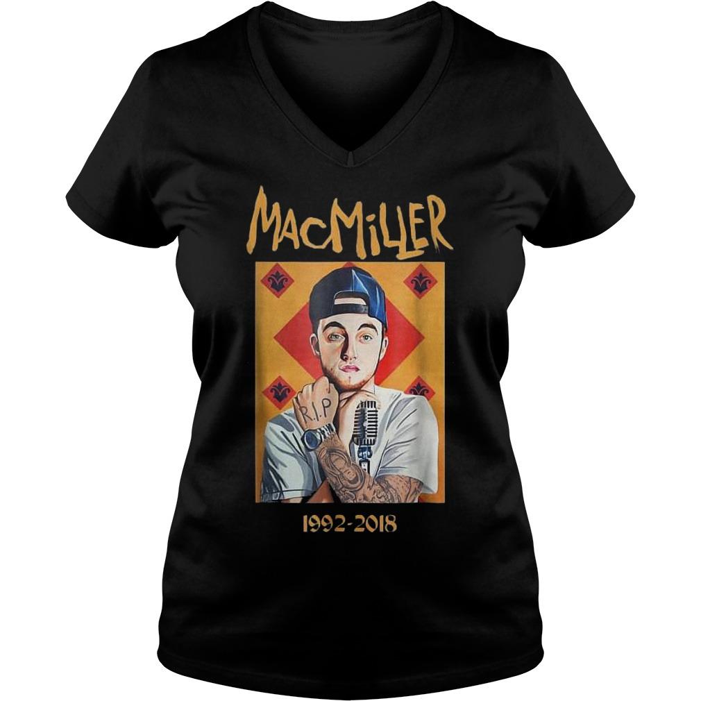 MacMiller 1992-2018 shirt Ladies V-Neck