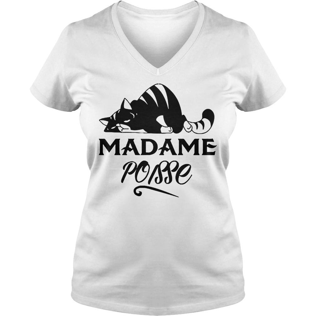 Madame Poisse shirt Ladies V-Neck