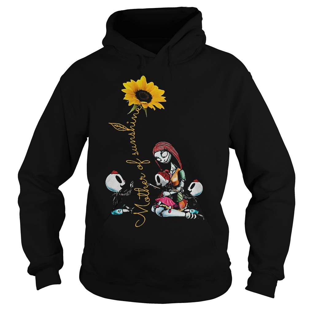 Two boys one girl mother of sunshine shirt Hoodie