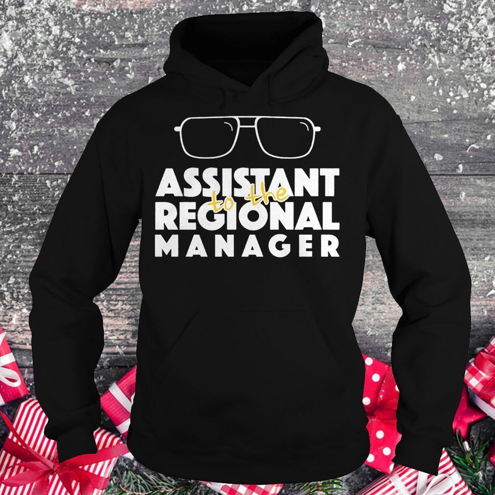 Assistant to the regional manager shirt Hoodie