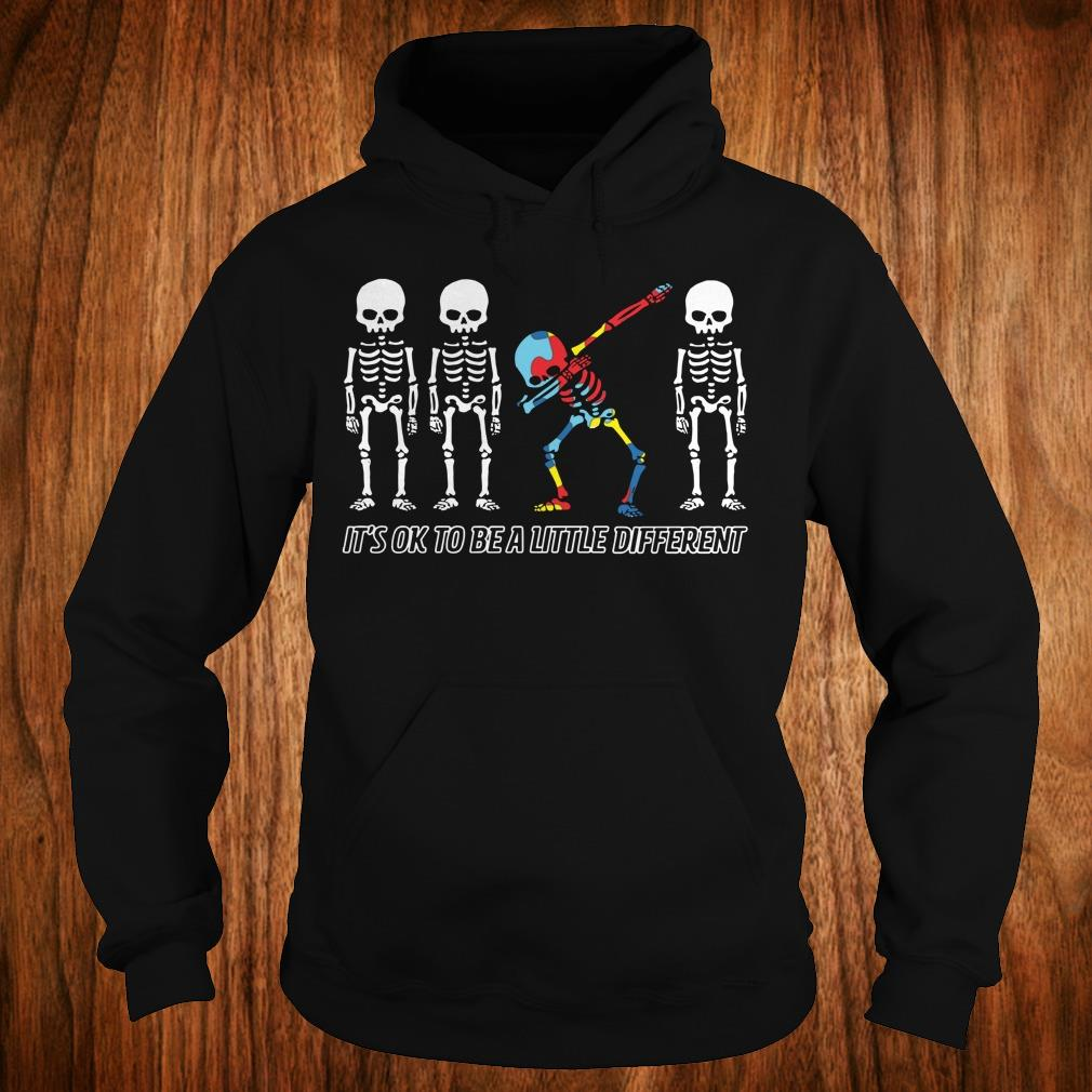 Best Price Autism skeleton dabbing it's ok to be a little different sweatshirt Hoodie