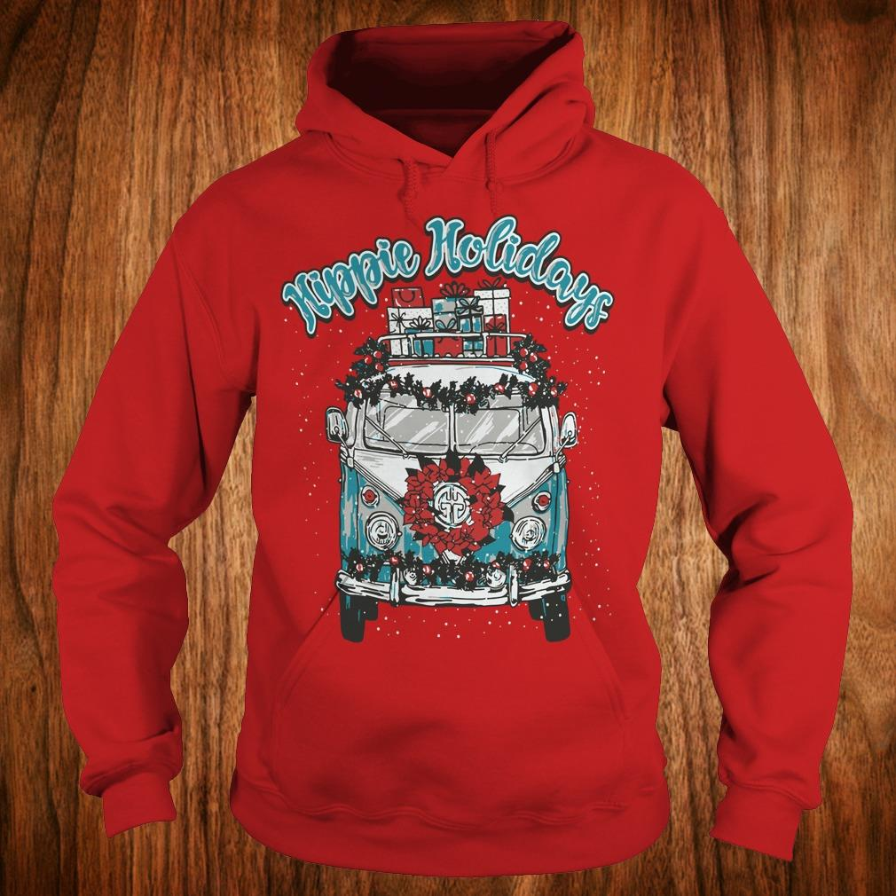 Best price Christmas Hippie Holidays Sweatshirt