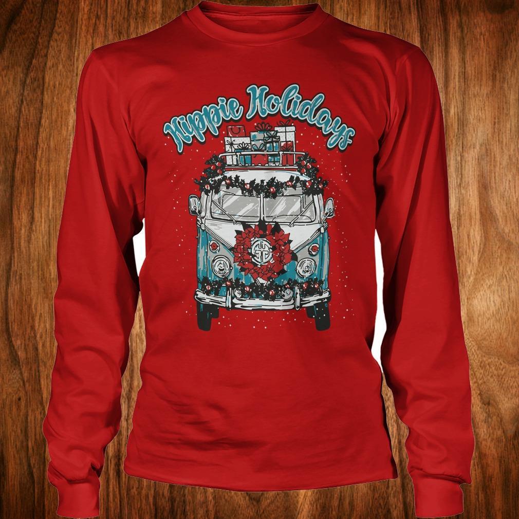 Best price Christmas Hippie Holidays Sweatshirt Longsleeve Tee Unisex