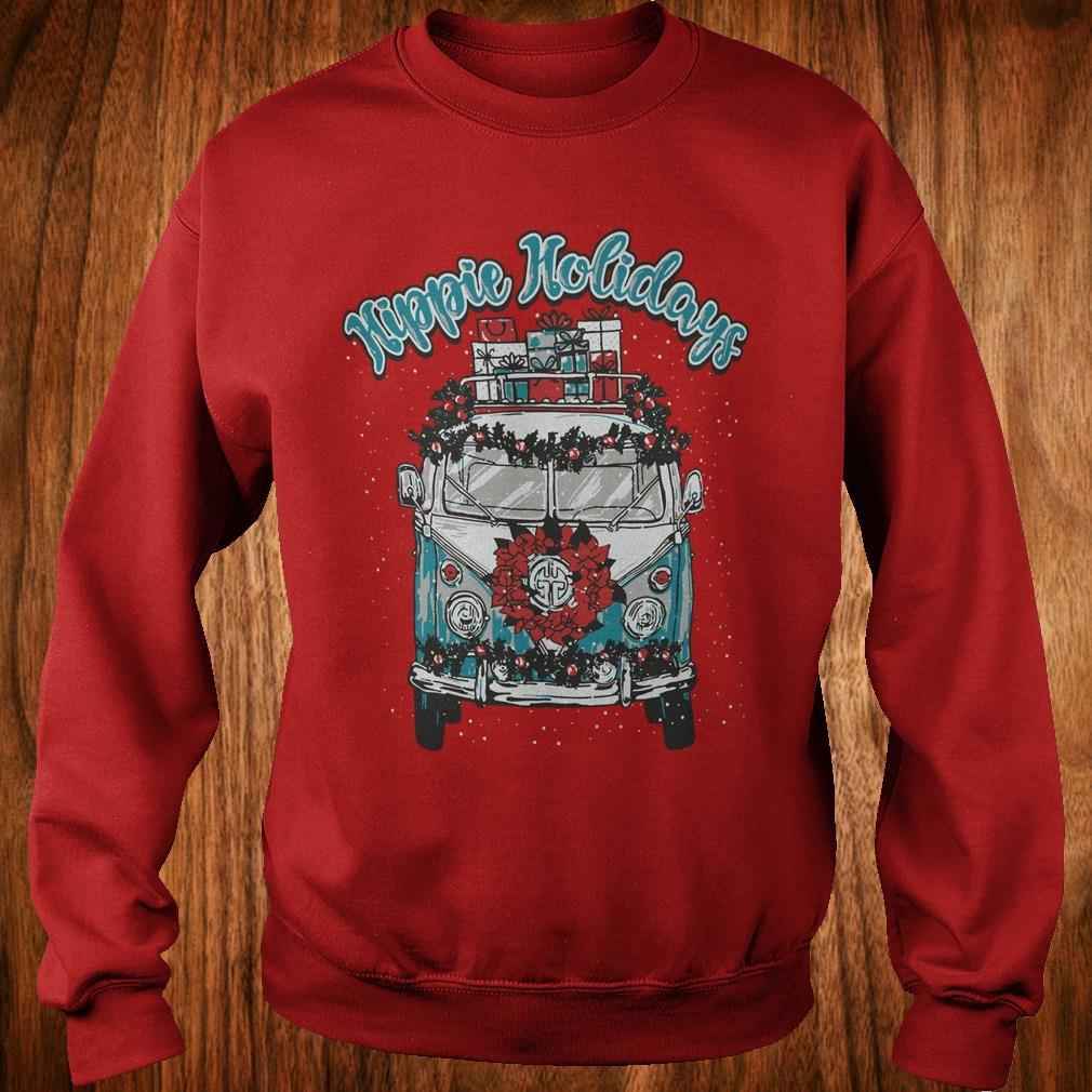 Best price Christmas Hippie Holidays Sweatshirt Sweatshirt Unisex