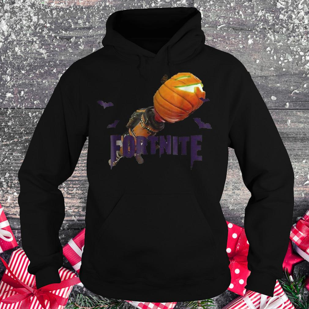 Fortnite Bazooka pumpkin halloween shirt Hoodie