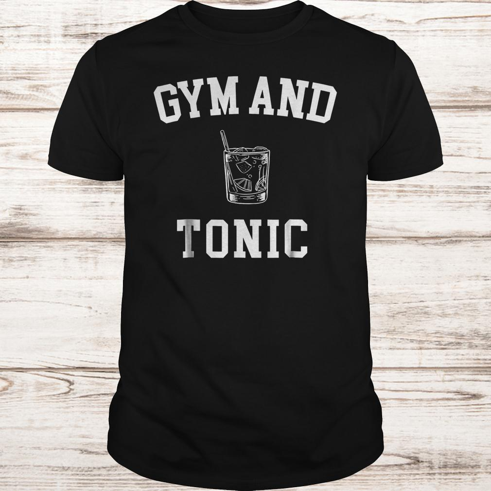 Gym and Tonic shirt Classic Guys / Unisex Tee