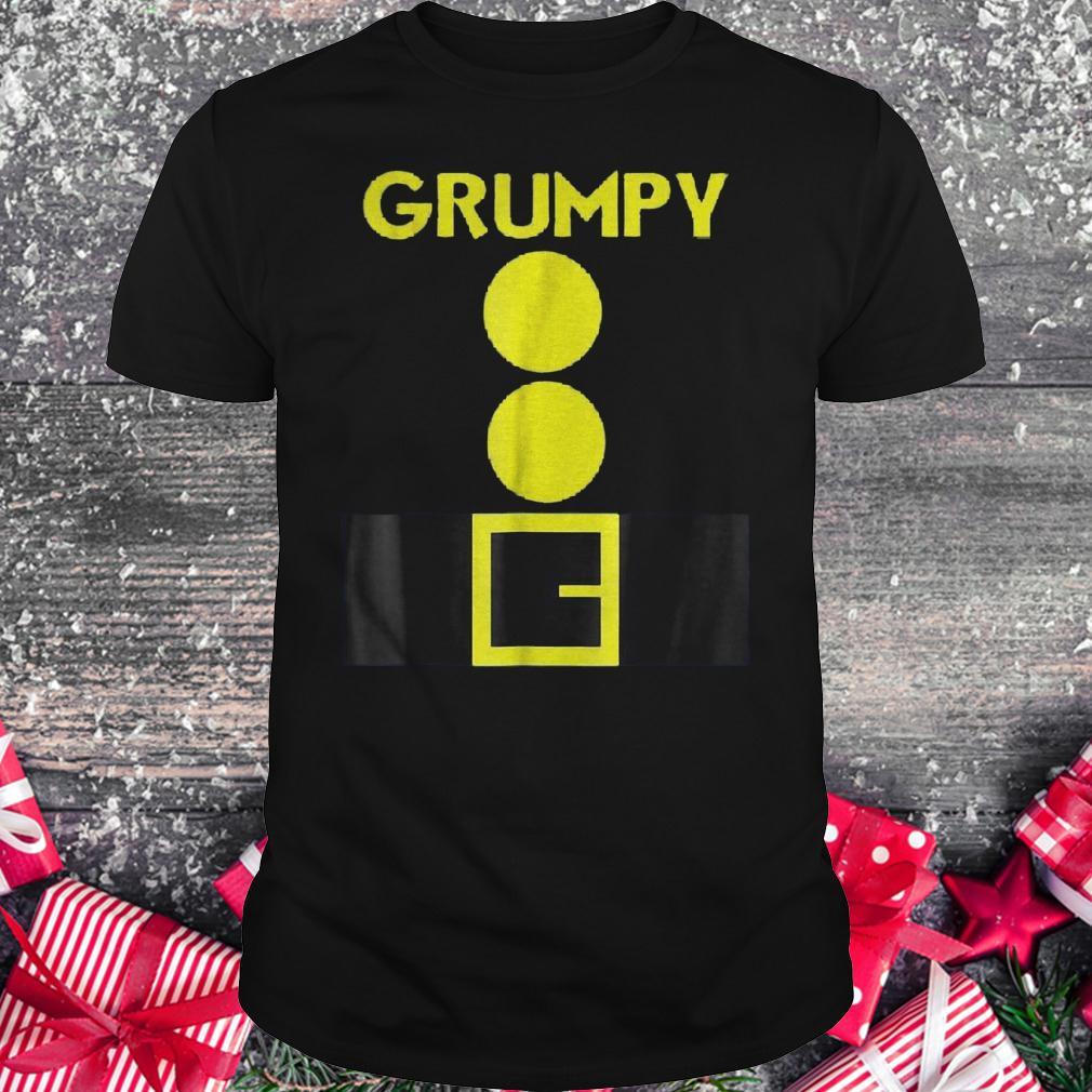 Halloween dwarf matching group Grumpy shirt