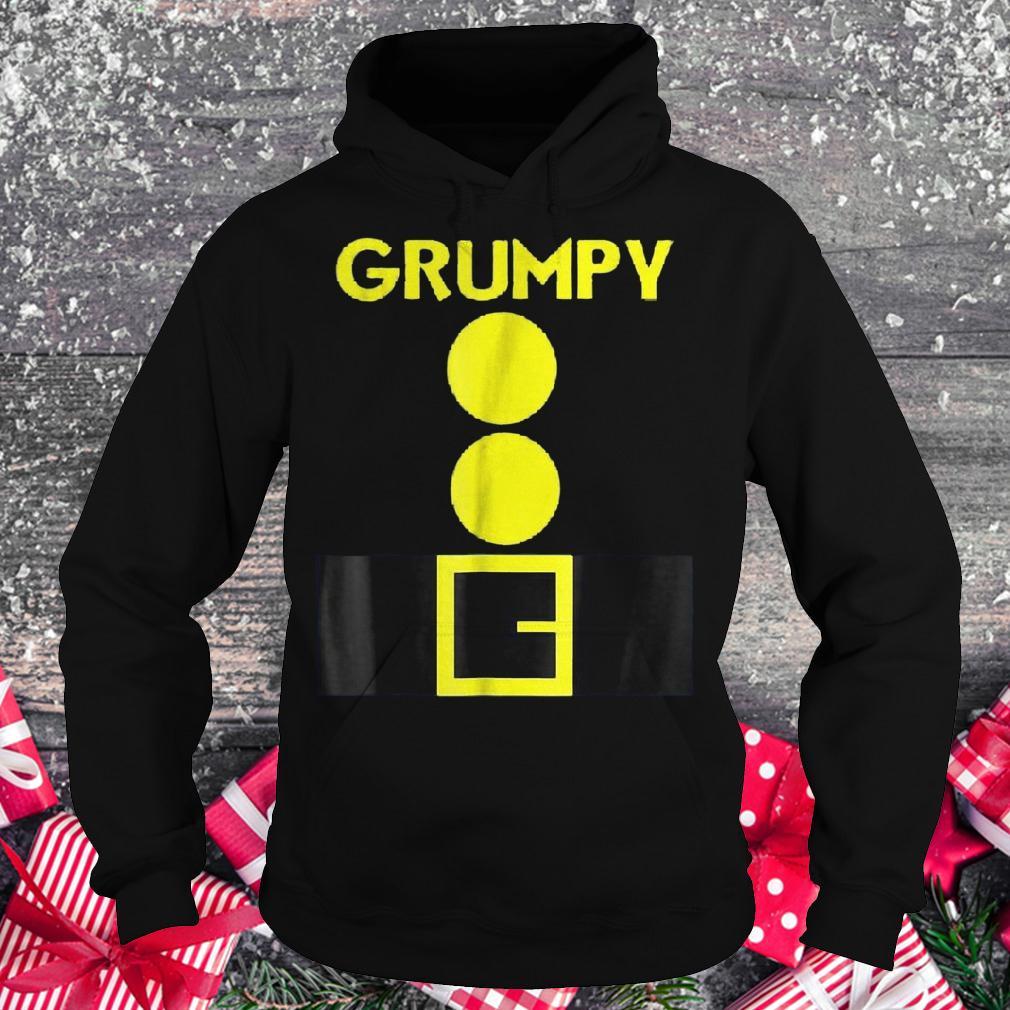 Halloween dwarf matching group Grumpy shirt Hoodie