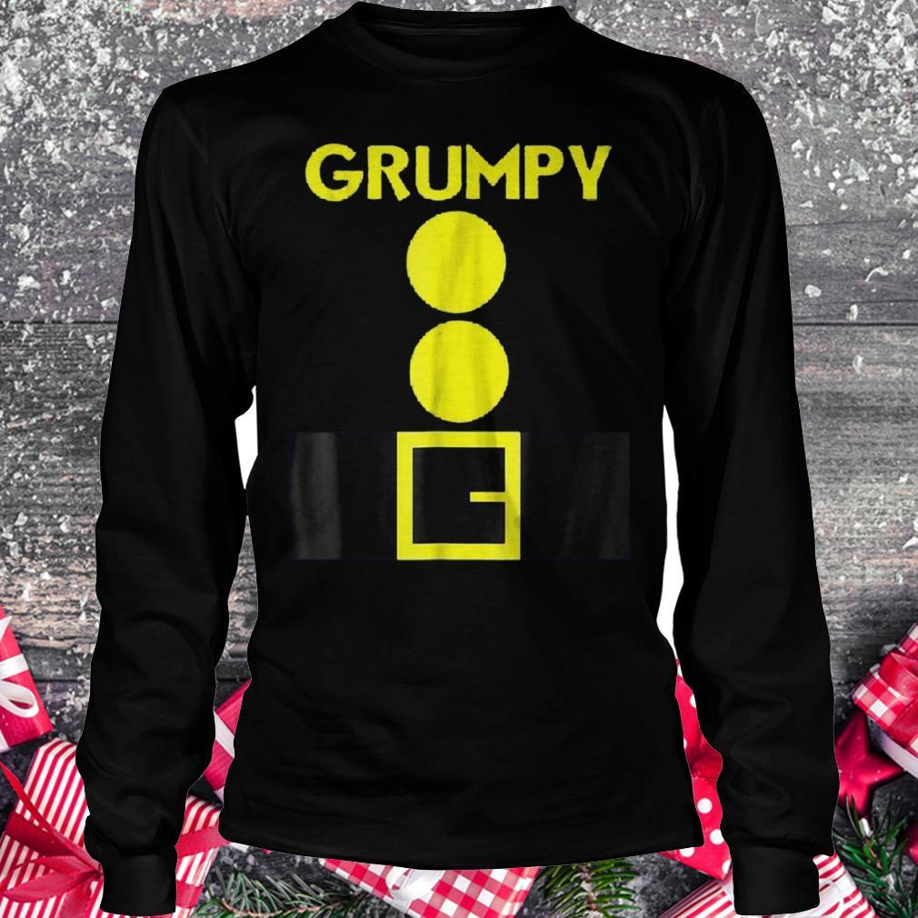 Halloween dwarf matching group Grumpy shirt Longsleeve Tee Unisex