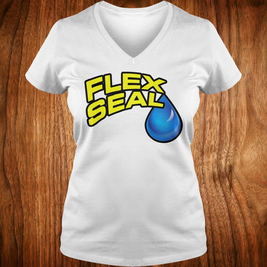 Hot Flex Seal Shirt Ladies V-Neck