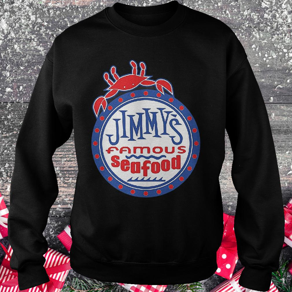 Jimmy's famous seafood Jimmy's flag shirt Sweatshirt Unisex