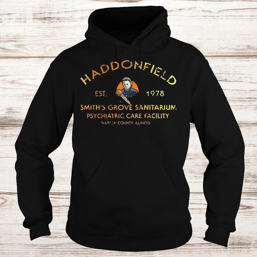 Michael Myers haddonfield est 1978 smith's grove sanitarium shirt Hoodie