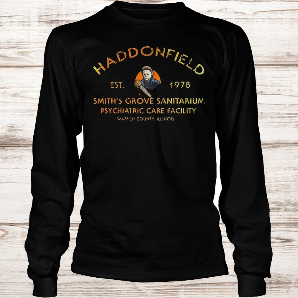 Michael Myers haddonfield est 1978 smith's grove sanitarium shirt Longsleeve Tee Unisex