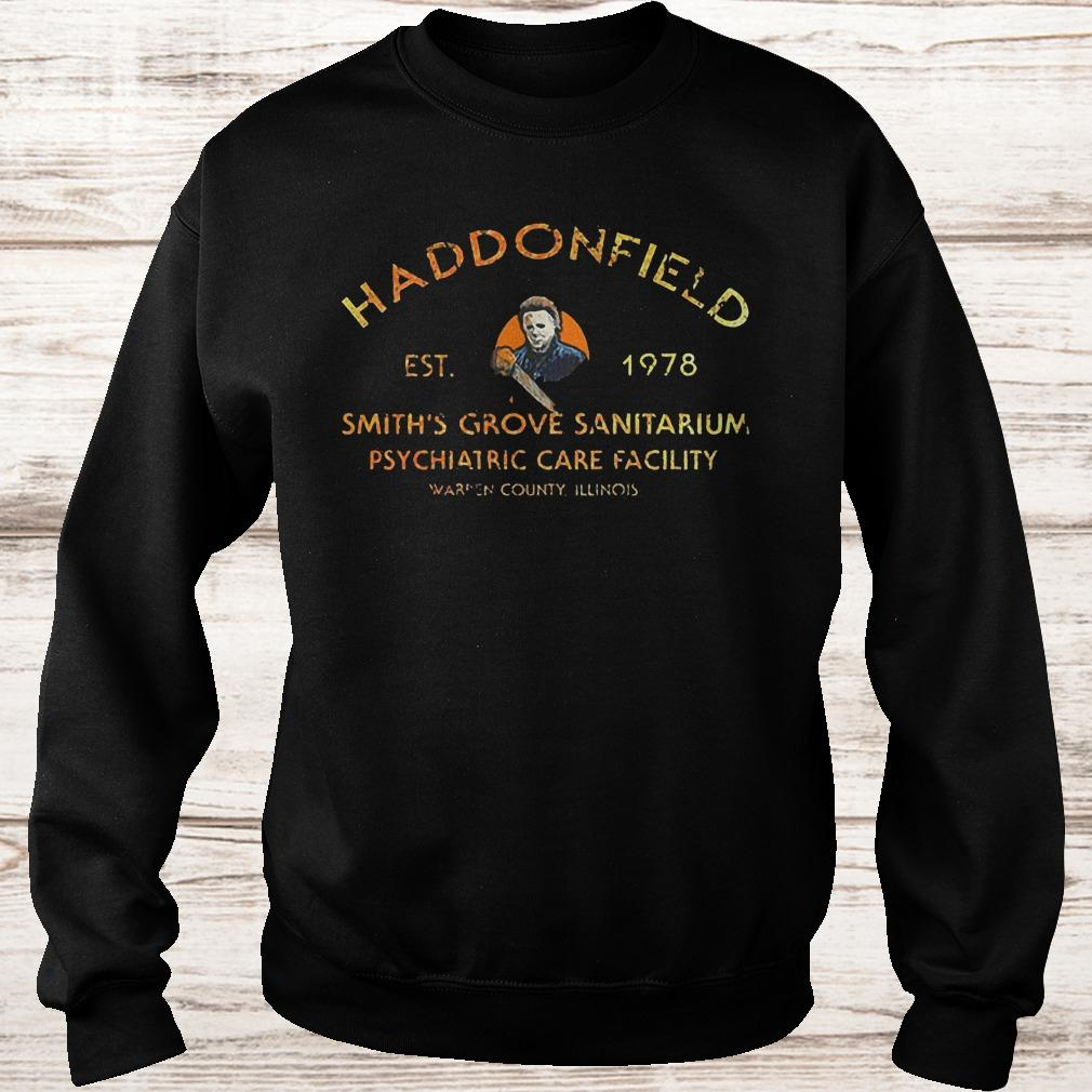 Michael Myers haddonfield est 1978 smith's grove sanitarium shirt Sweatshirt Unisex