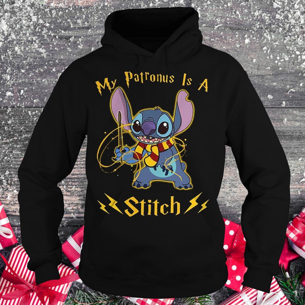 My patronus is a Stitch shirt Hoodie