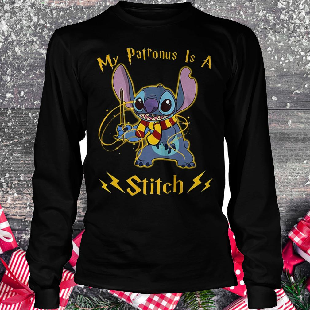 My patronus is a Stitch shirt Longsleeve Tee Unisex