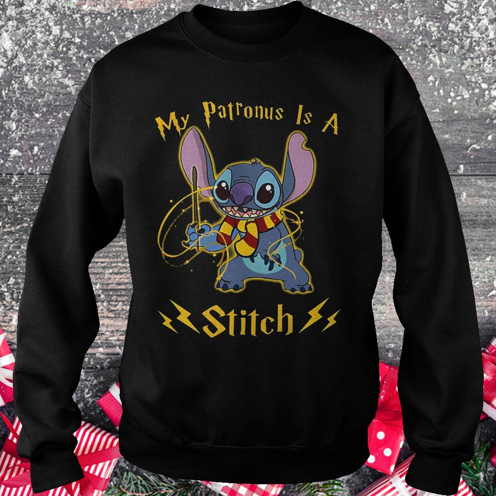 My patronus is a Stitch shirt Sweatshirt Unisex