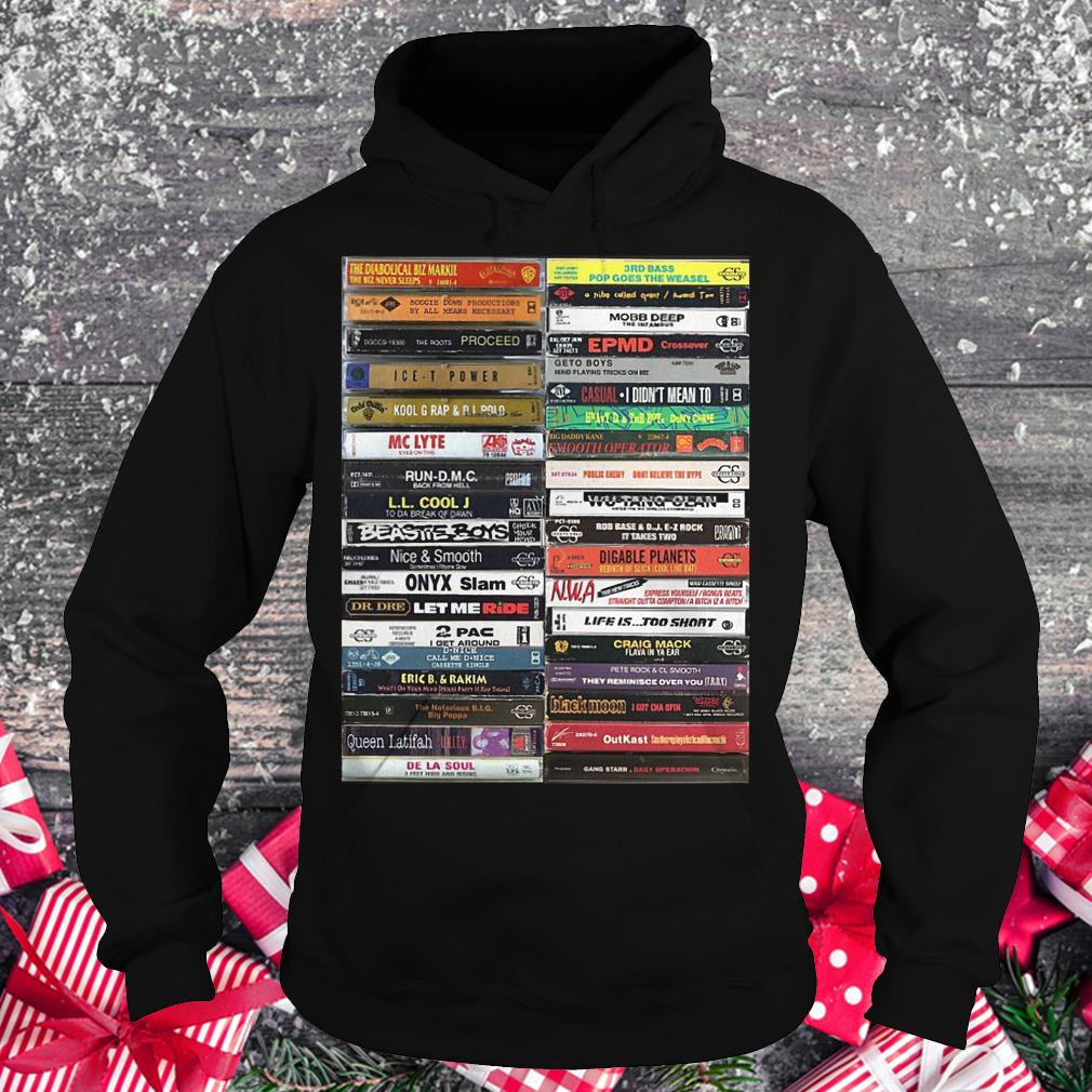 Old school cassette tapes shirt Hoodie