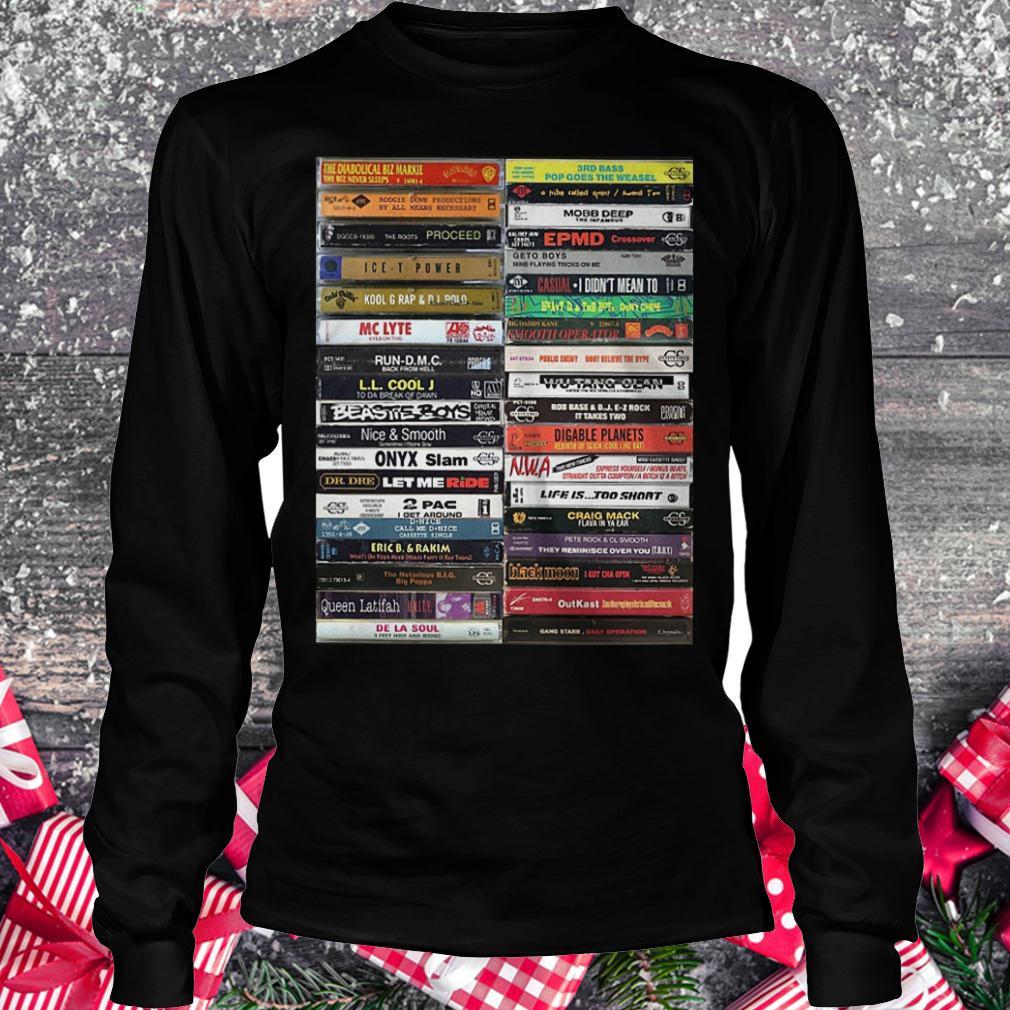 Old school cassette tapes shirt Longsleeve Tee Unisex
