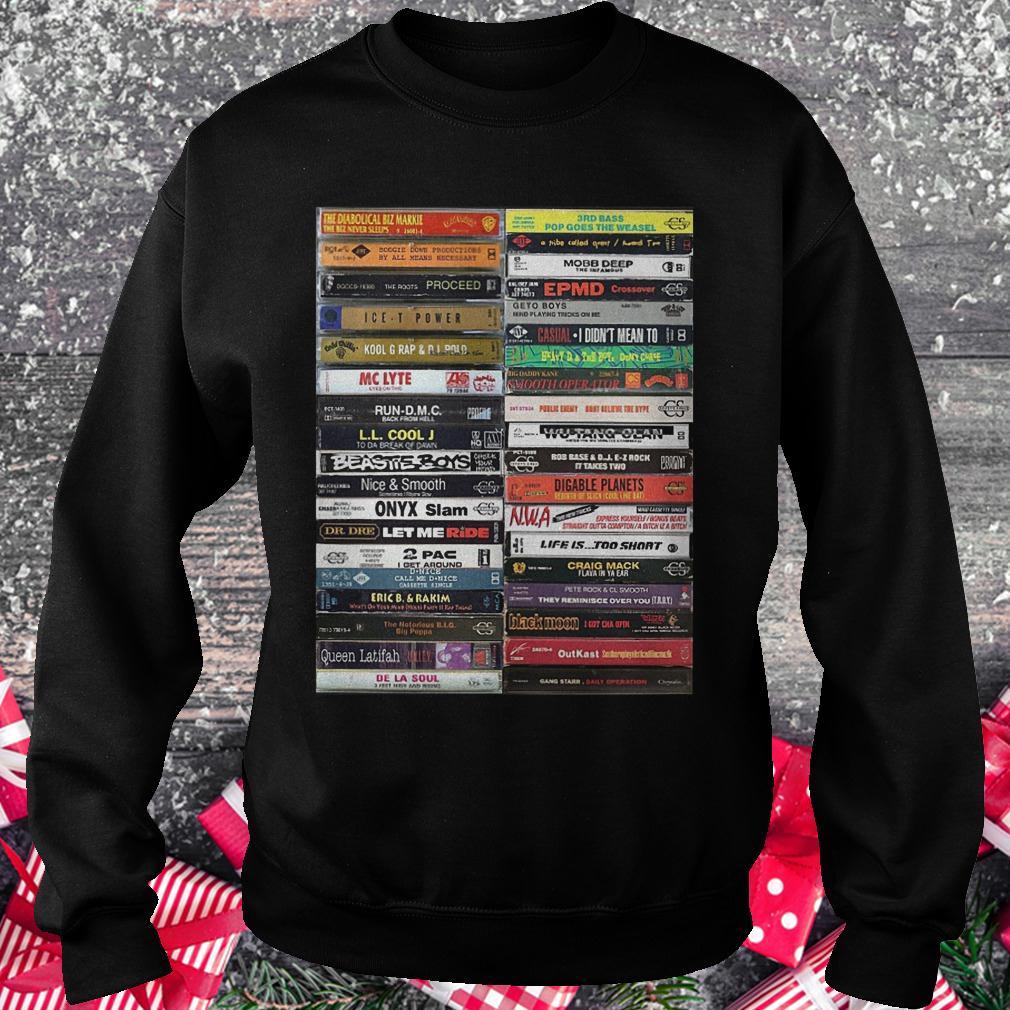 Old school cassette tapes shirt Sweatshirt Unisex