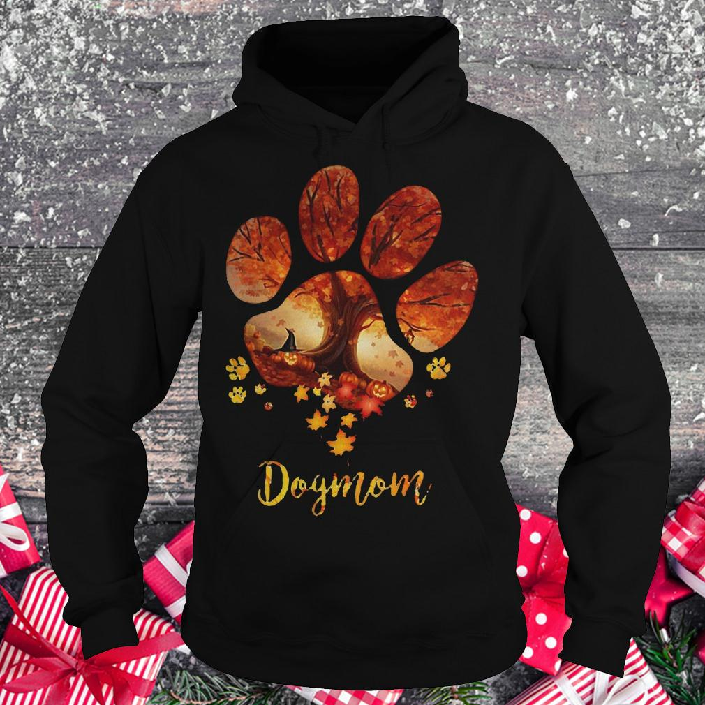 Paw dogmom halloween tree shirt Hoodie