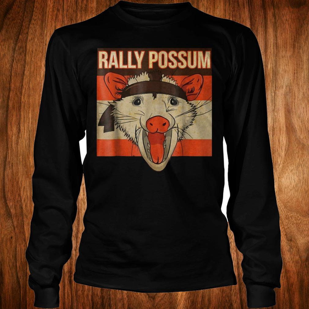 Rally Possum shirt Longsleeve Tee Unisex