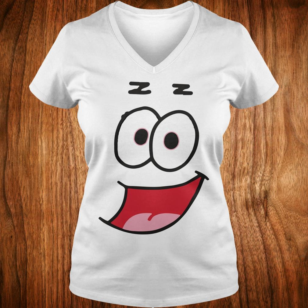 The Best Patrick Star Halloween funny costume shirt Ladies V-Neck