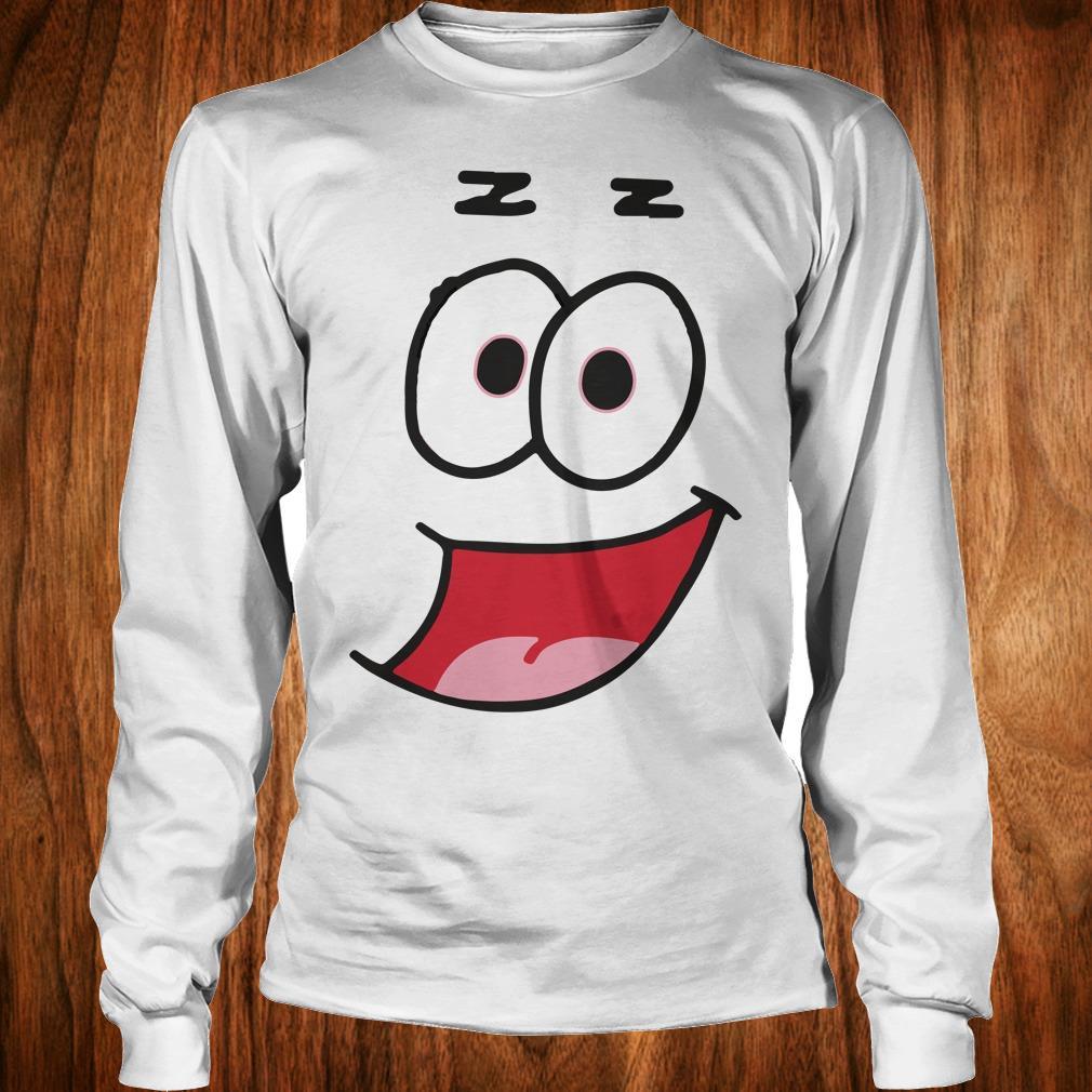 The Best Patrick Star Halloween funny costume shirt Longsleeve Tee Unisex