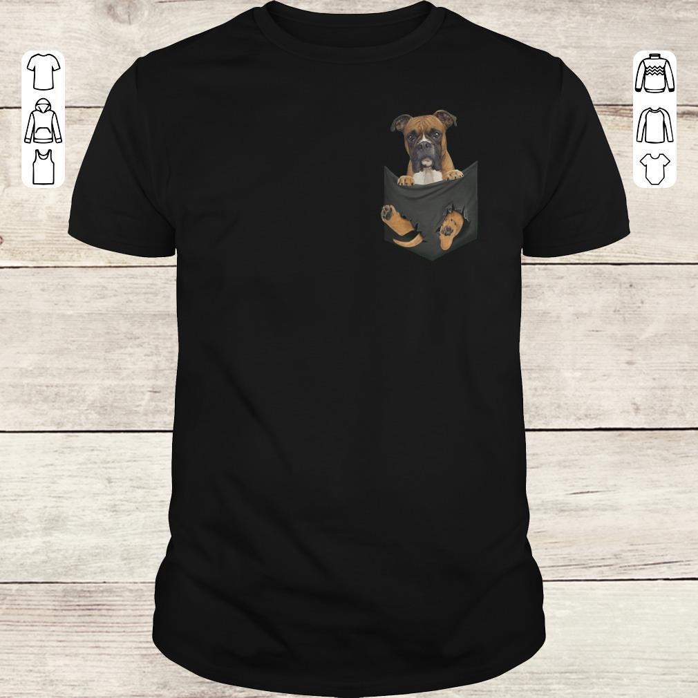 Awesome Boxer Tiny Pocket shirt Classic Guys / Unisex Tee