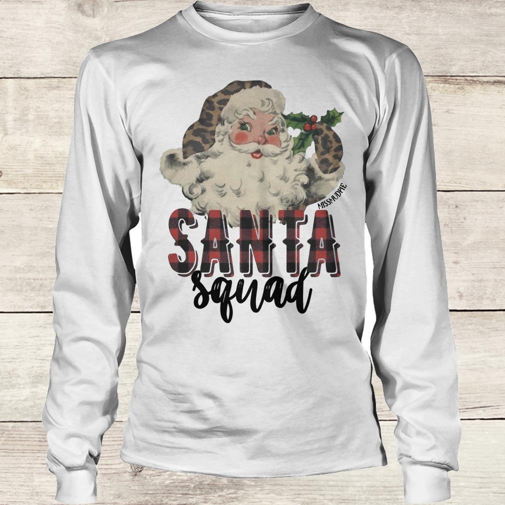 Awesome Santa Squad shirt Longsleeve Tee Unisex
