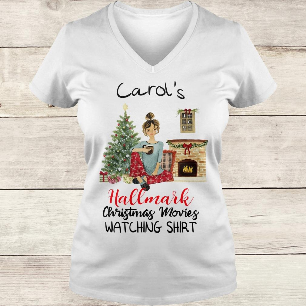 Best price Carol's This is My Hallmark Christmas Movie Watching Shirt Ladies V-Neck