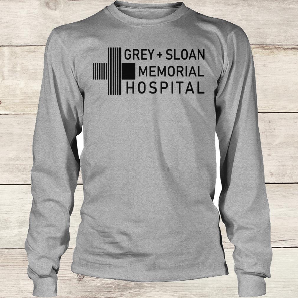 Bestprice Grey sloan memorial hospital shirt, hoodie Longsleeve Tee Unisex