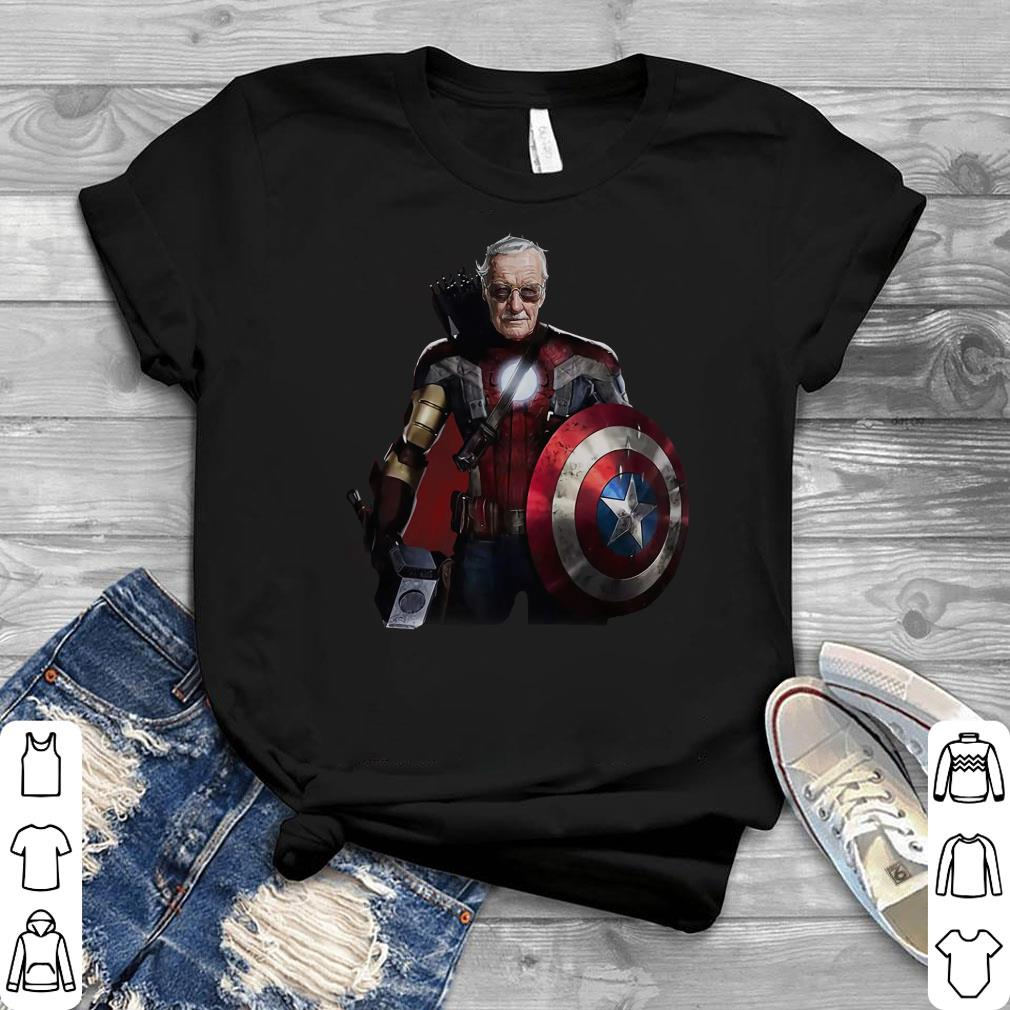 Funny Stan Lee Superhero shirt