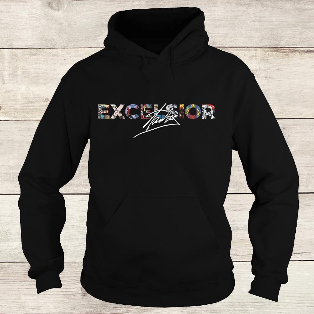 Nice Stan Lee Excelsior Shirt Hoodie