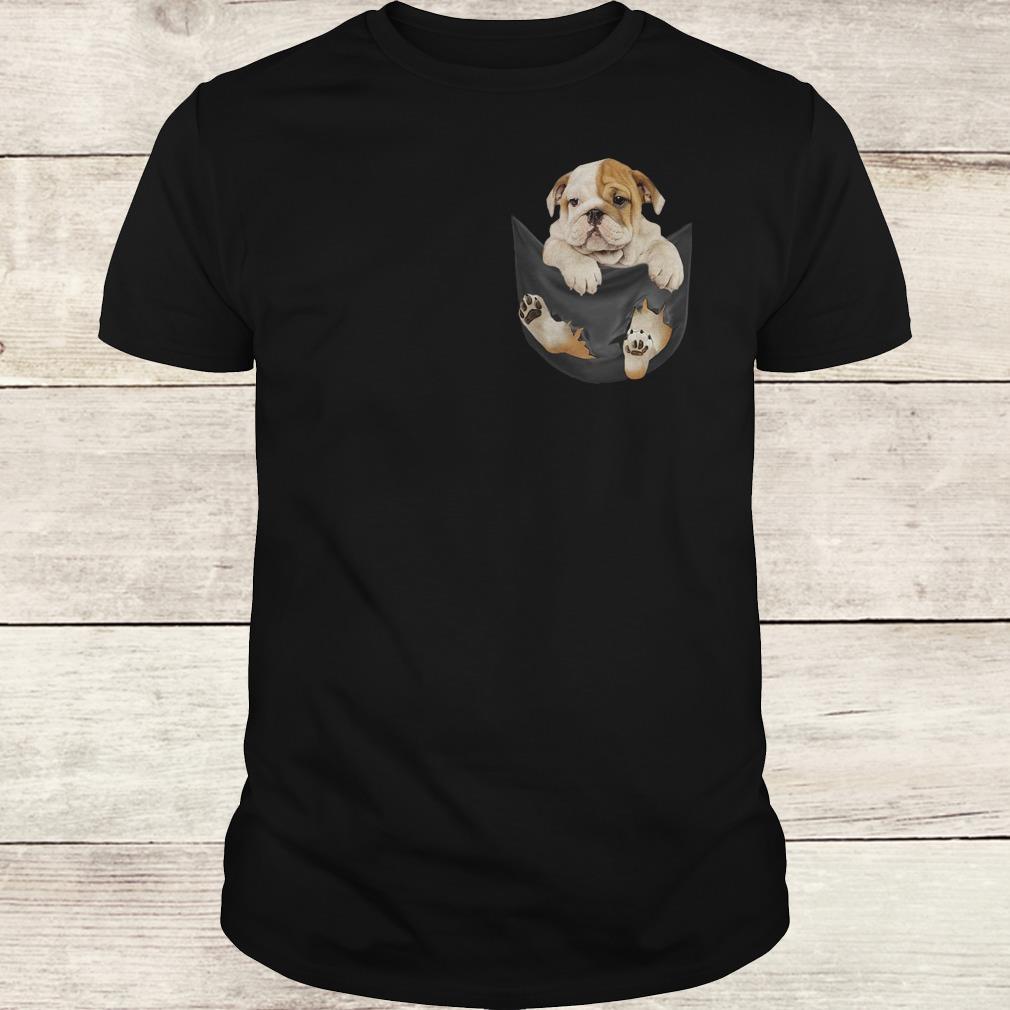 Official Bulldog Tiny Pocket shirt Classic Guys / Unisex Tee