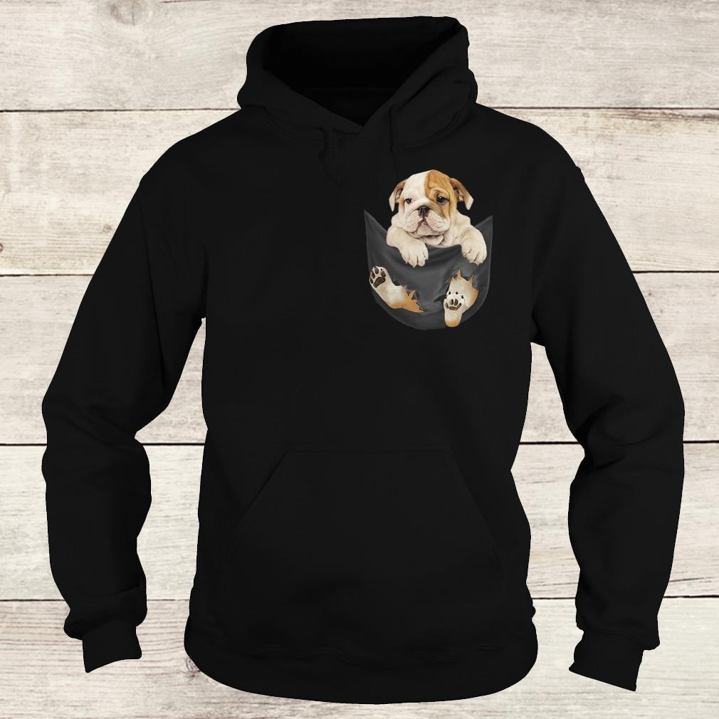 Official Bulldog Tiny Pocket shirt Hoodie