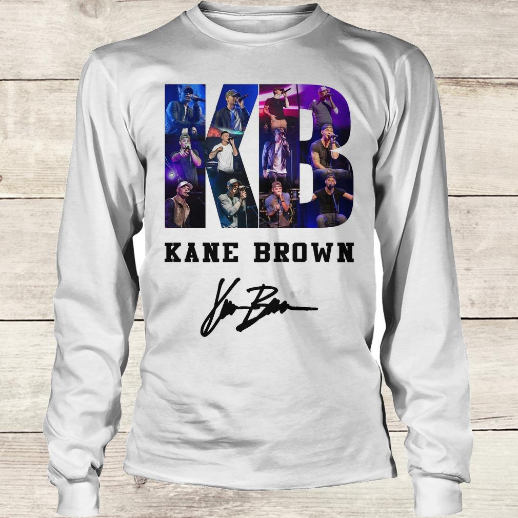Official Kane Brown Signed Autograph shirt Longsleeve Tee Unisex