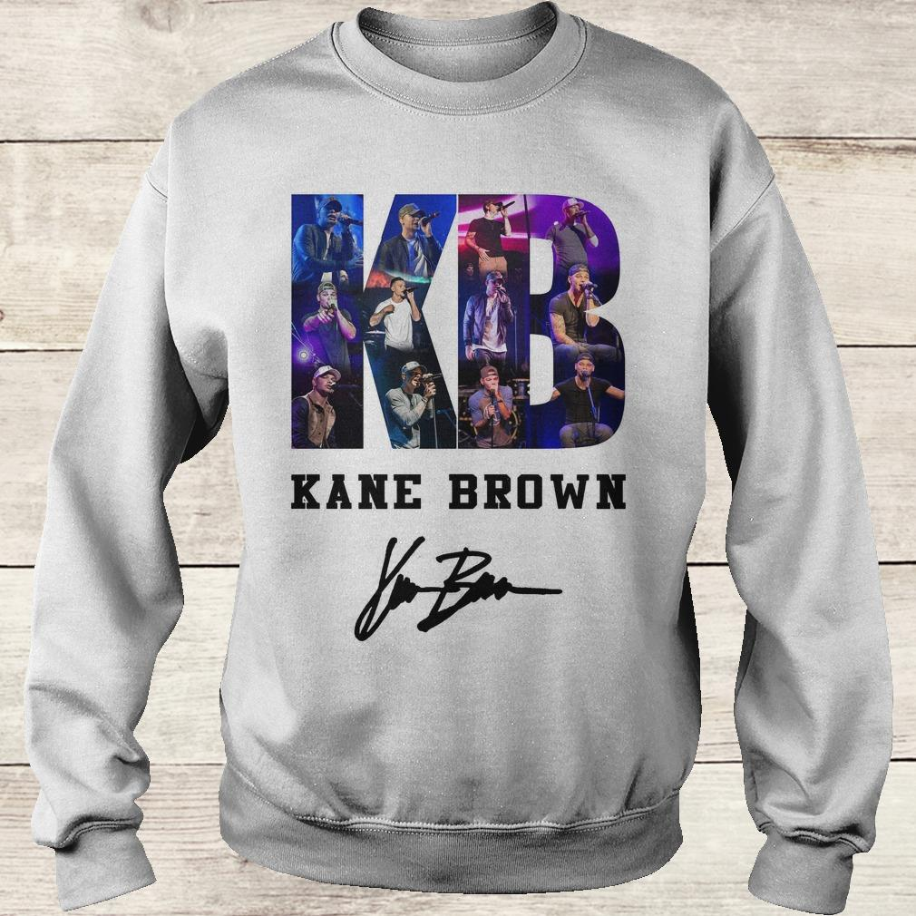 Official Kane Brown Signed Autograph shirt Sweatshirt Unisex