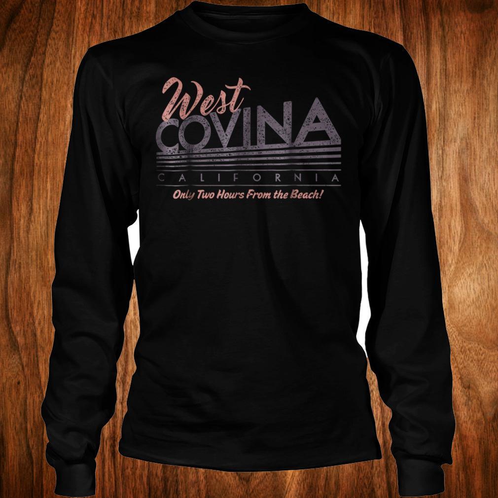 Official West Covina California Shirt Longsleeve Tee Unisex