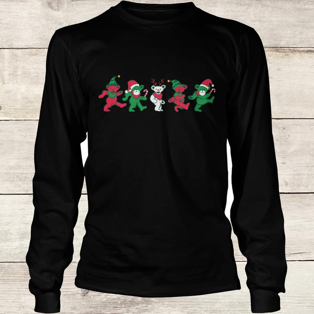 Original Grateful dead dancing bears shirt Longsleeve Tee Unisex