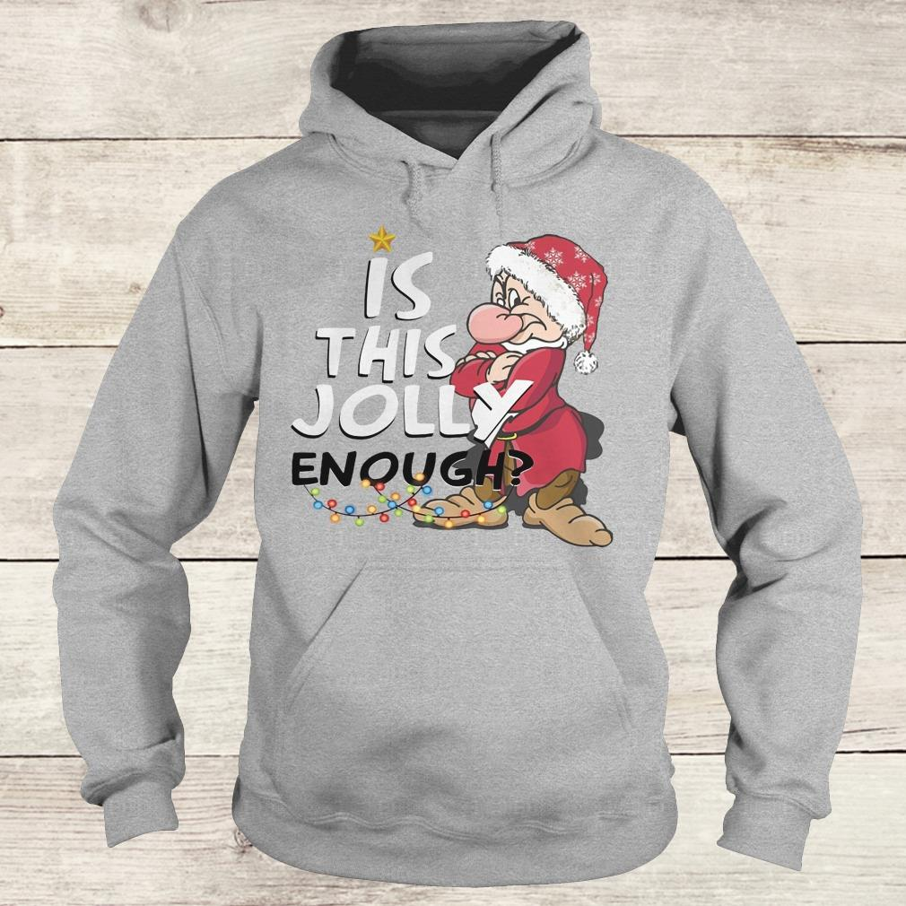 Original Is this jolly enough shirt Hoodie
