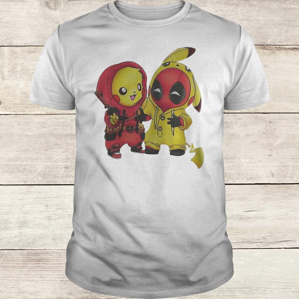 Original Pikachu and Deadpool shirt Classic Guys / Unisex Tee