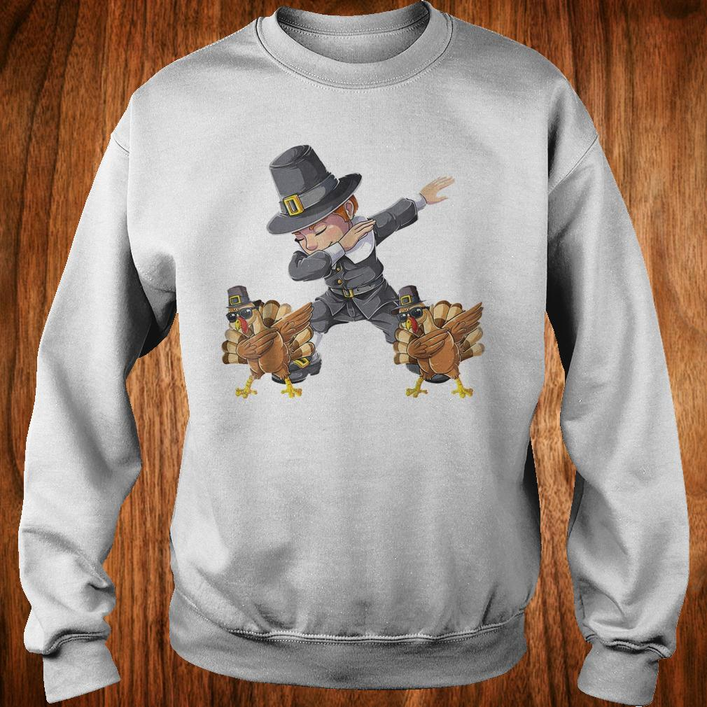 Original Thanksgiving Dabbing Boy Turkey Shirt Sweatshirt Unisex