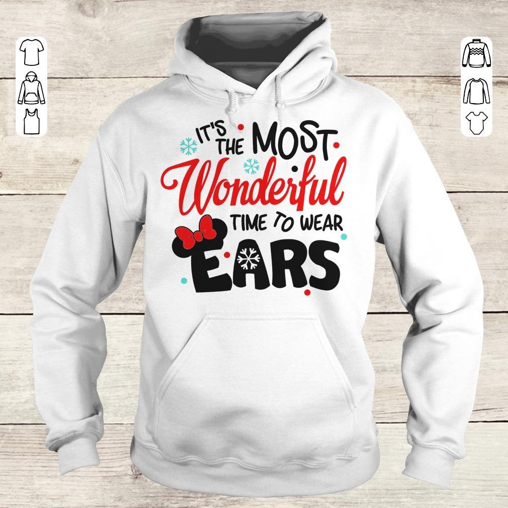 Premium Disney It's The Most Wonderful Time To Wear Ears shirt Hoodie