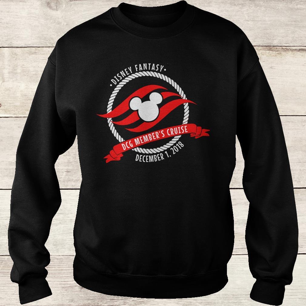 Premium Disney fantasy DCG Member's Cruise shirt Sweatshirt Unisex