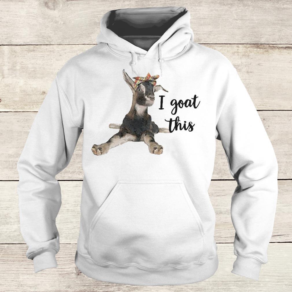 Premium Farmers I goat this shirt Hoodie