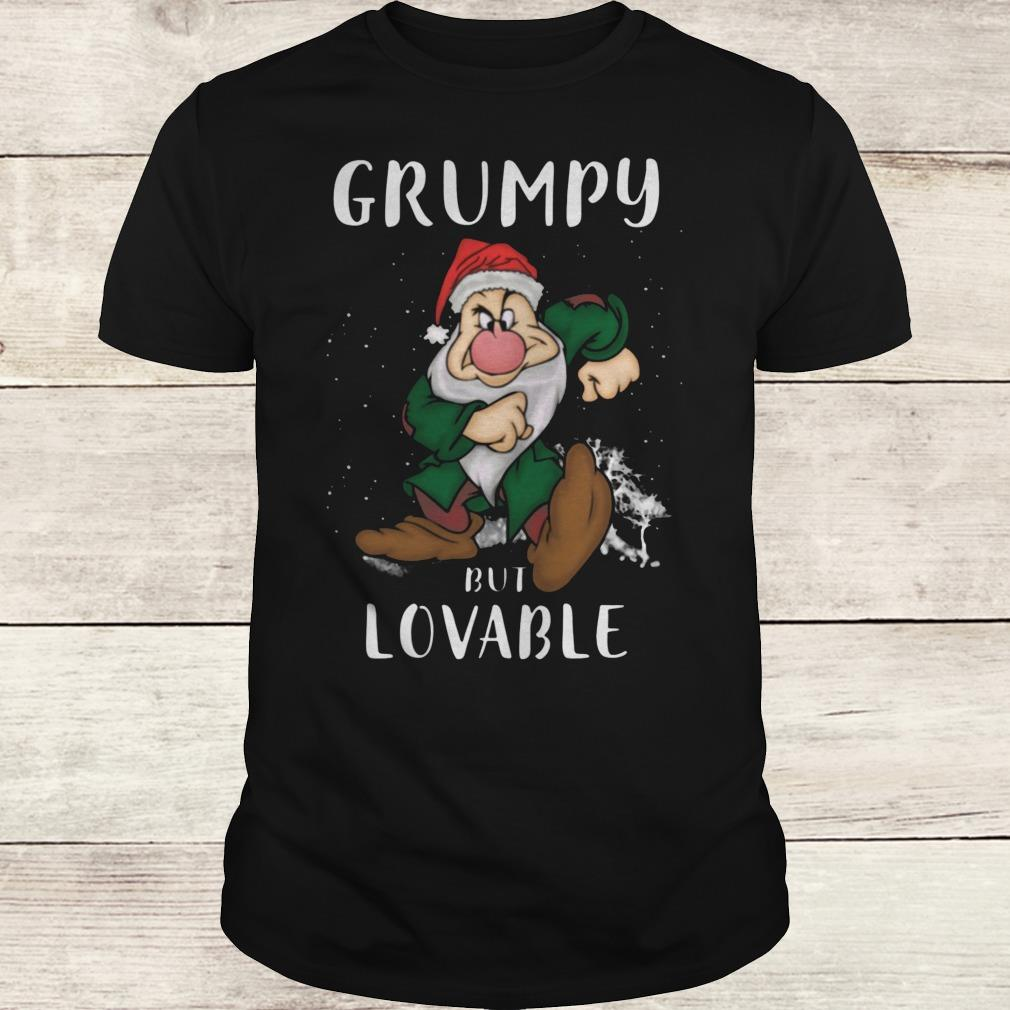 Premium Grumpy but lovable Shirt Classic Guys / Unisex Tee