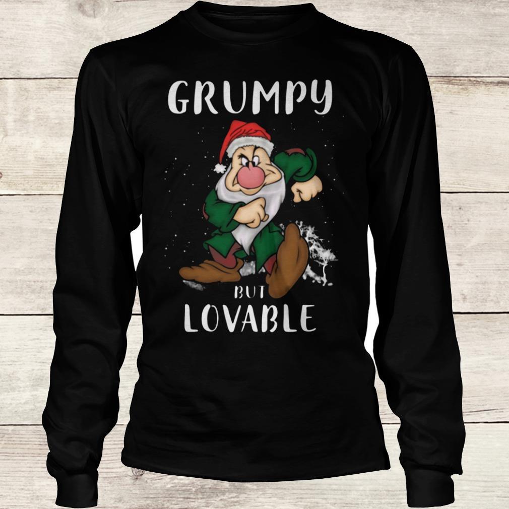 Premium Grumpy but lovable Shirt Longsleeve Tee Unisex